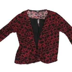 AGB Women's 3/4 Sleeve Blouse LARGE